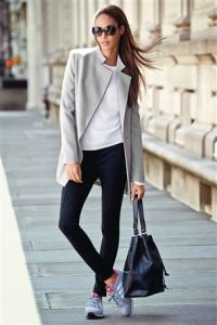 Next Grey Longline Jacket