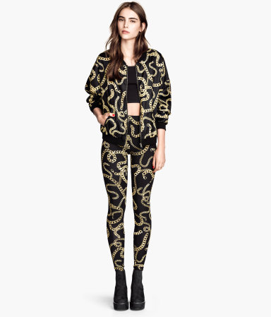 H&M Patterned Leggings and Jacket