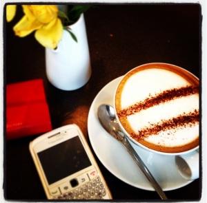 Cappuccino at Hej