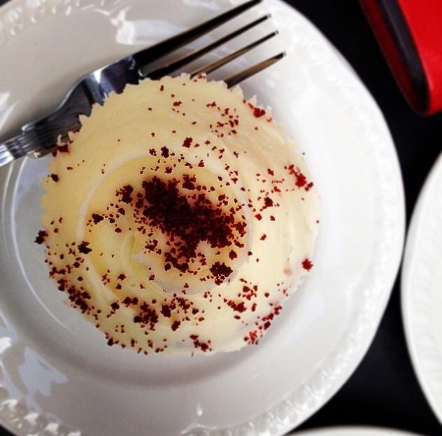 Red Velvette Cupcake Hummingbird Bakery