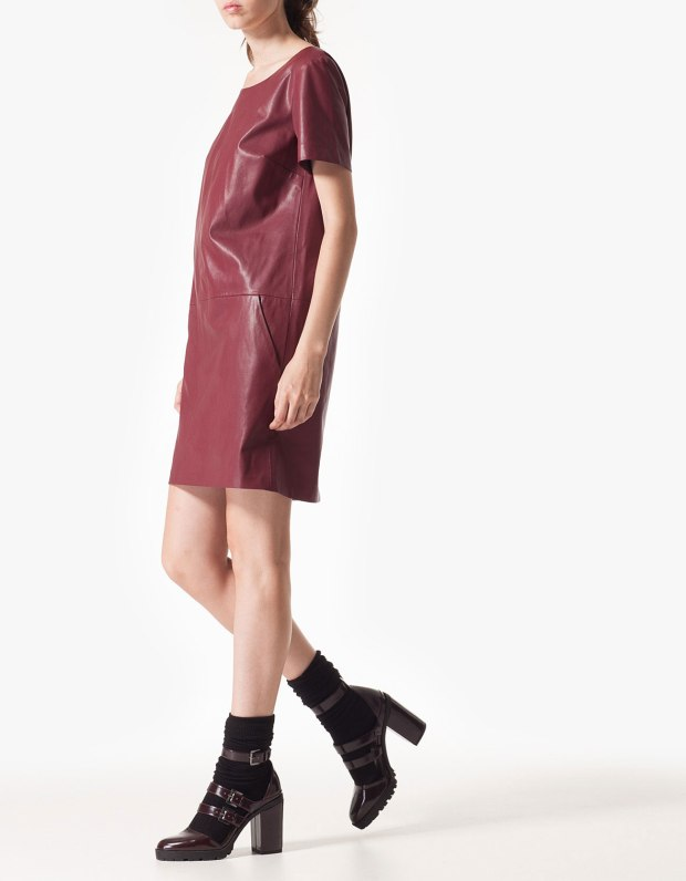 Stradivarius Short Sleeve Dress