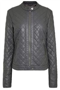 Grey Next Faux Leather Jacket