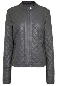 Grey Next Faux Leather Jacket