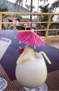 Pinacolada at Alcove in Goa.
