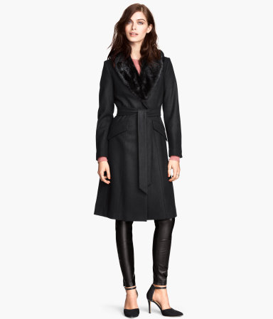 H&M Coat in a Wool Mix