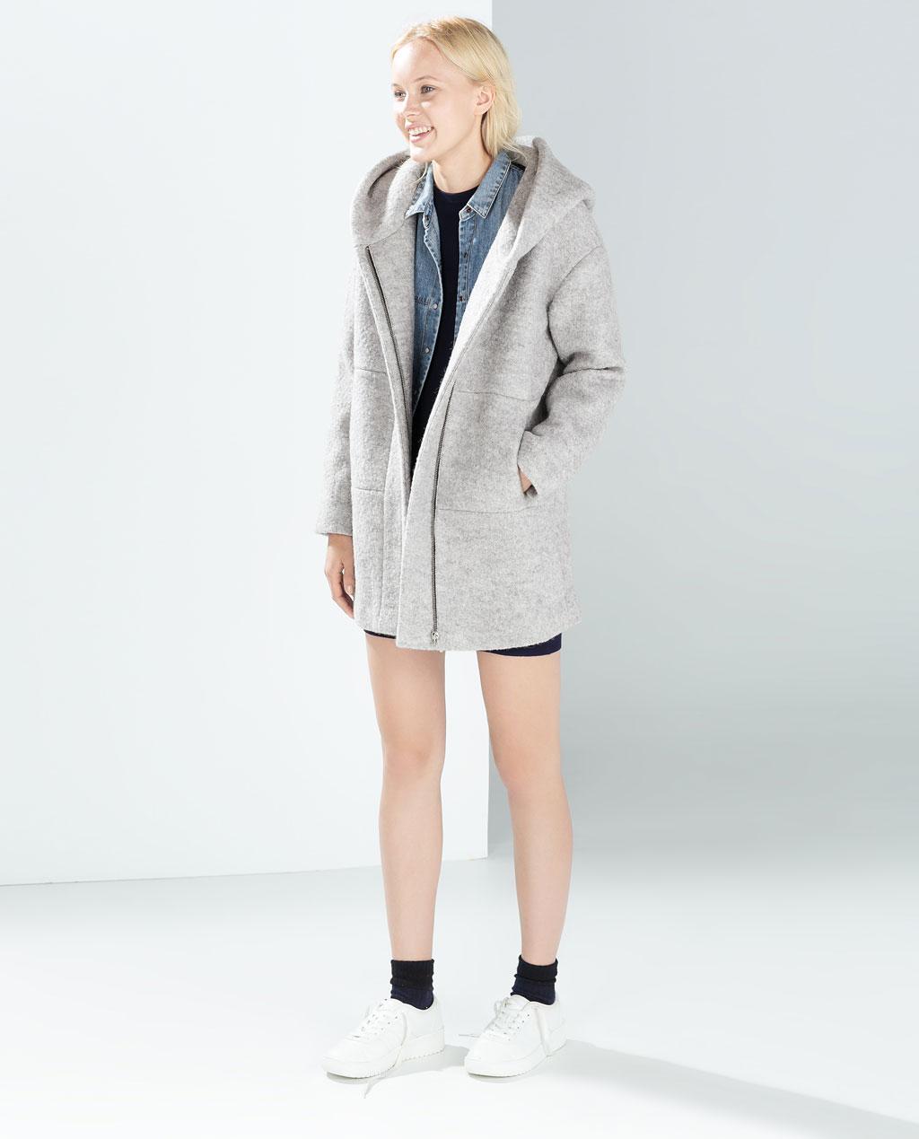 Images of Zara Wool Coat - Reikian