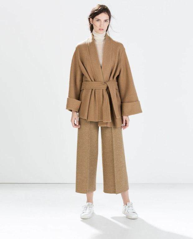 Zara Studio Knit Kimono