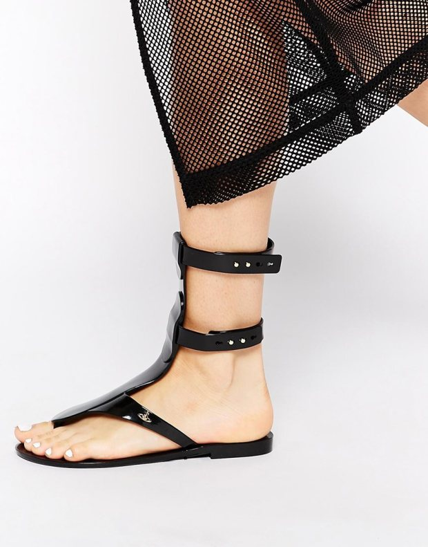 Vivienne Westwood For Melissa Harmonic Gladiator Sandals