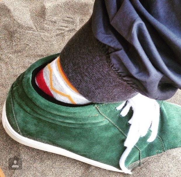 Koovs adidas Nike Sneakers Keds Suede Green