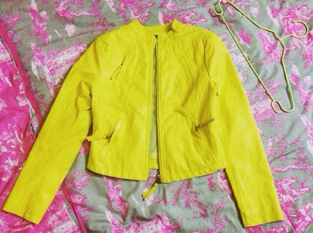 Neon Cropped Jacket