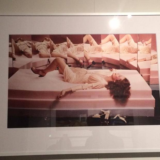 Guy Bourdin Woman Lying on table
