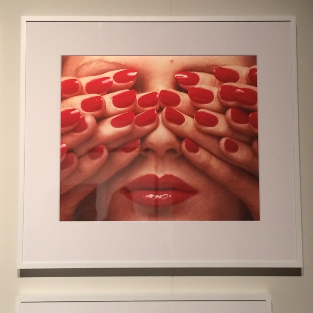 Guy Bourdin Red Lipstick Hands Vogue