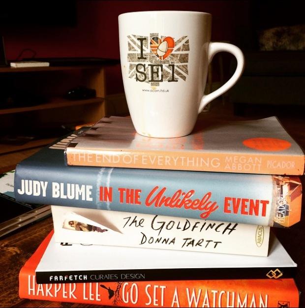 Books Harper Lee Judy Bume Megan Abbott Farfetch Goldfinch Donna Tartt