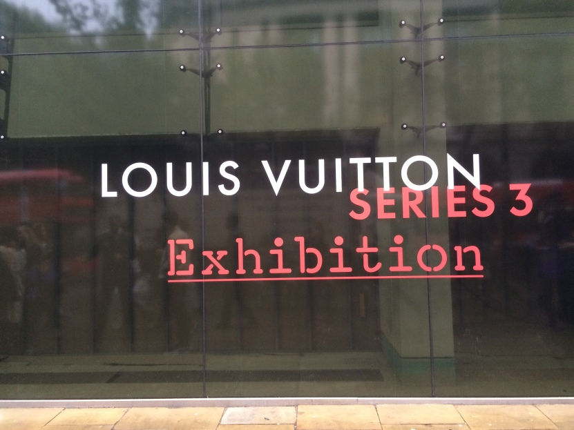 Louis Vuitton Series 3 Fashion exhibition Strand London