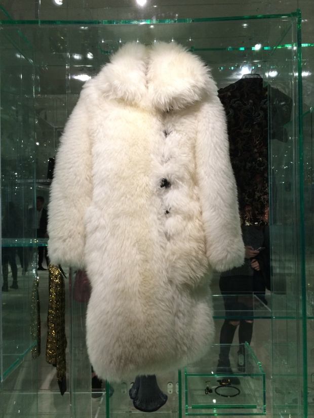 Louis Vuitton fur coat collection