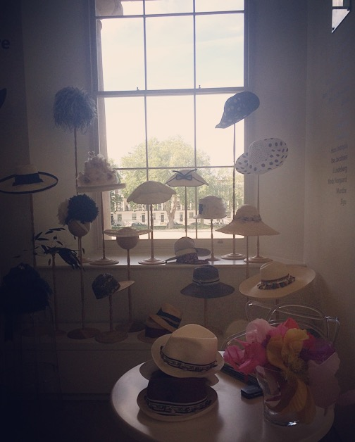 Hats Scoop Fashion show london