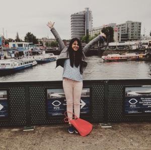 Bidisha in Amsterdam