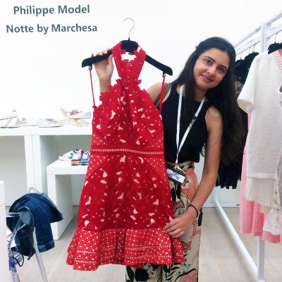 Marchesa Scoop London fashion show
